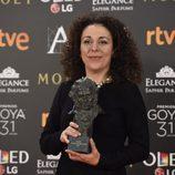 Sandra Hermida, ganadora del premio Goya 2017 a Mejor dirección de producción