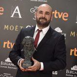 David Marti ganador del Goya 2017 a Mejor Maquillaje y Peluquería por 'Un monstruo viene a verme'