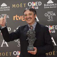 Juan Vicente Córdoba, ganador del premio Goya 2017 a Mejor cortometraje documental