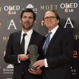 Enrique Costa ganador del Goya 2017 a Mejor Película Europea por 'Elle'