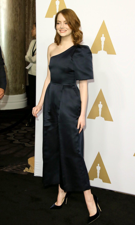 Emma Stone en la Comida Anual de los Nominados en los Premios Oscar 2017