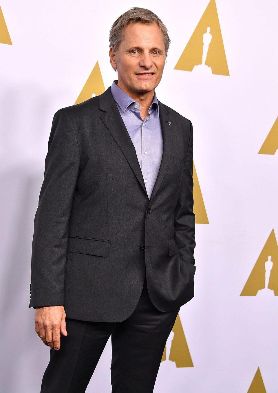 Viggo Mortensen en la Comida Anual de los Nominados en los Premios Oscar 2017