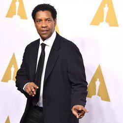 Denzel Washington en la Comida Anual de los Nominados en los Premios Oscar 2017