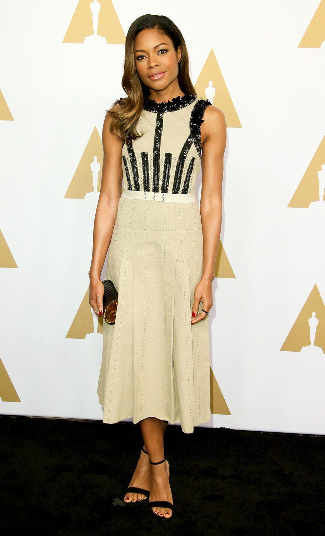 Naomie Harris en la Comida Anual de los Nominados en los Premios Oscar 2017