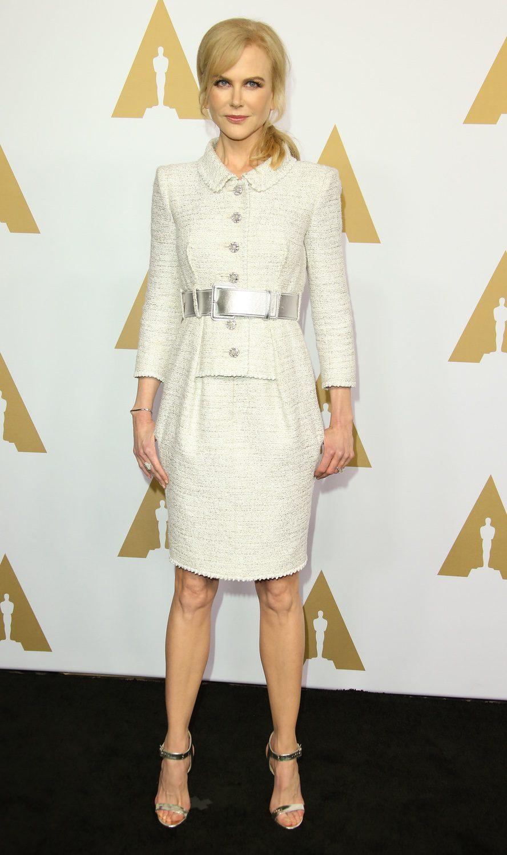 Nicole Kidman en la Comida Anual de los Nominados en los Premios Oscar 2017