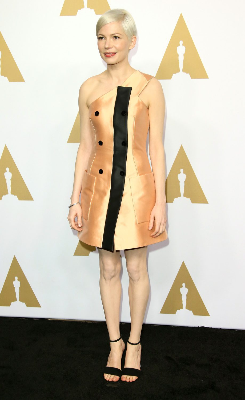 Michelle Williams en la Comida Anual de los Nominados en los Premios Oscar 2017
