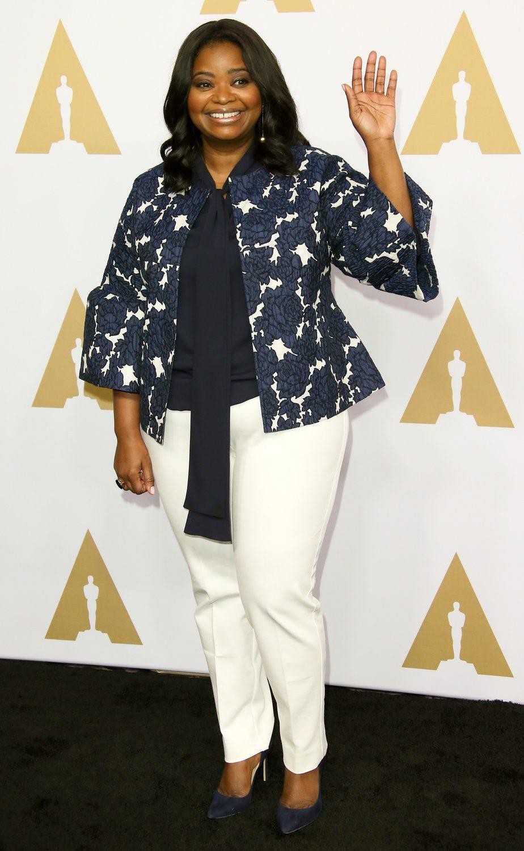 Octavia Spencer en la Comida Anual de los Nominados en los Premios Oscar 2017
