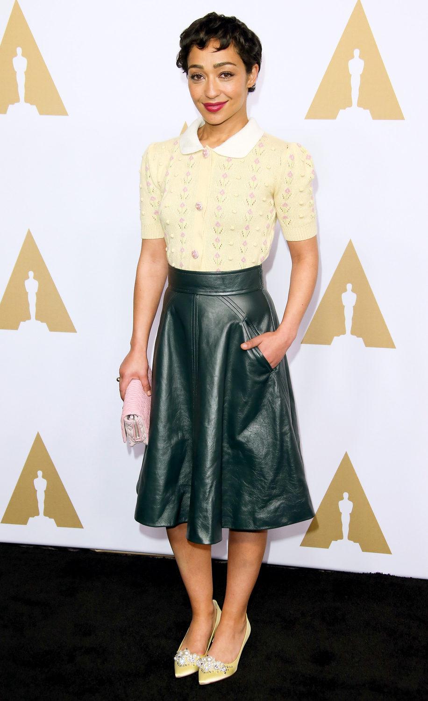 Ruth Negga en la Comida Anual de los Nominados en los Premios Oscar 2017