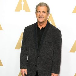 Mel Gibson en la Comida Anual de los Nominados en los Premios Oscar 2017