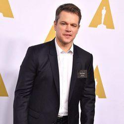 Matt Damon en la Comida Anual de los Nominados en los Premios Oscar 2017