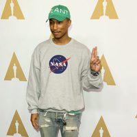 Pharrell Williams en la Comida Anual de los Nominados en los Premios Oscar 2017