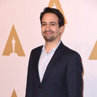 Lin-Manuel Miranda at the 2017 Annual Academy Awards Nominee Luncheon