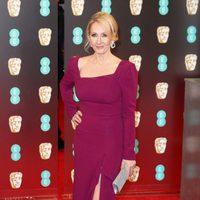 La creadora de 'Harry Potter', J. K. Rowling, en los BAFTA 2017