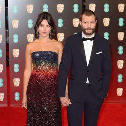 Jamie Dornan en la alfombra roja de los BAFTA 2017
