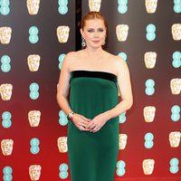 La protagonista de 'La Llegada', Amy Adams, en los BAFTA 2017