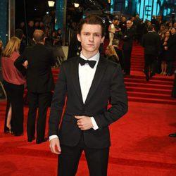 El protagonista de 'Spider-Man: Homecoming', Tom Holland, en los BAFTA 2017
