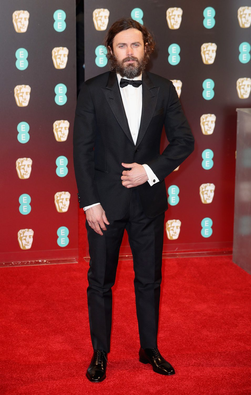 Casey Affleck en el photocall de los BAFTA
