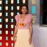Naomie Harris, protagonista de 'Moonlight', en la alfombra roja