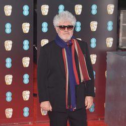 Pedro Almodóvar, director de 'Julieta', en la alfombra roja de los BAFTA
