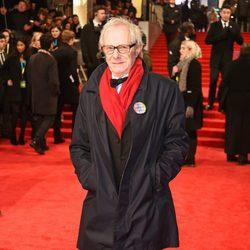 El director de 'Yo, Daniel Blake', Ken Loach, en los BAFTA 2017