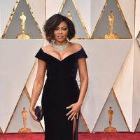 Taraji P. Henson at the red carpet of the Oscar 2017