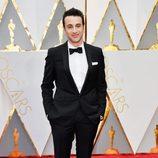 Justin Hurwitz en la alfombra roja de los Oscar 2017
