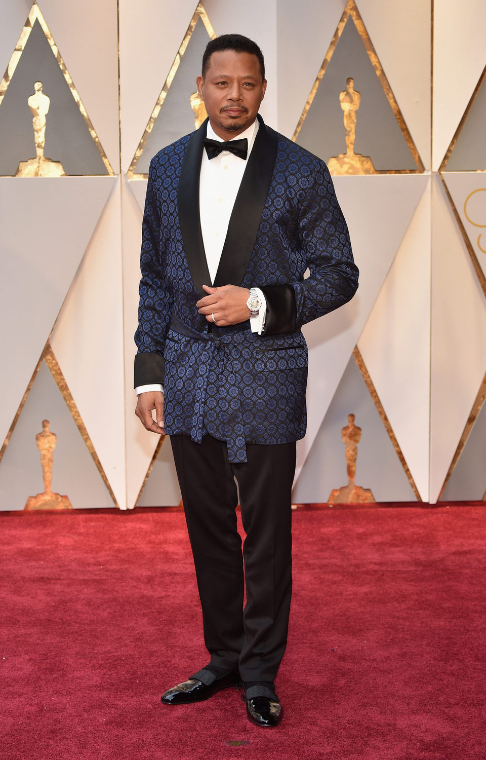Terrence Howard at the Oscars 2017 red carpet