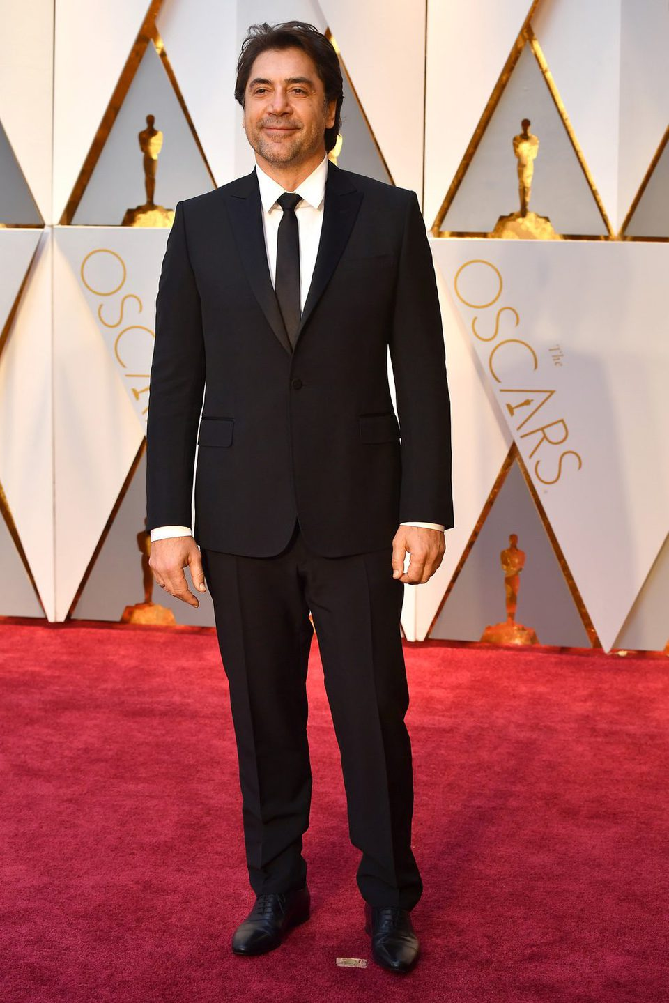Javier Bardem at the red carpet of the Oscars 2017
