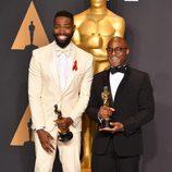 Barry Jenkins y Tarell Alvin McCraney, ganadores del Oscar a Mejor Película por 'Moonlight'