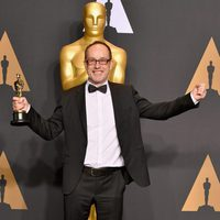 John Gilbert, ganador del Oscar a Mejor Montaje por 'Hasta el último hombre'