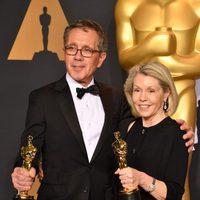 David Wasco y Sandy Reynolds-Wasco, ganadores del Oscar 2017 al Mejor Diseño de Producciónº