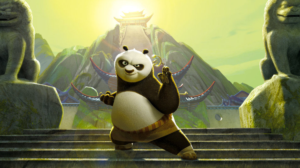 Kung Fu Panda, fotograma 2 de 38