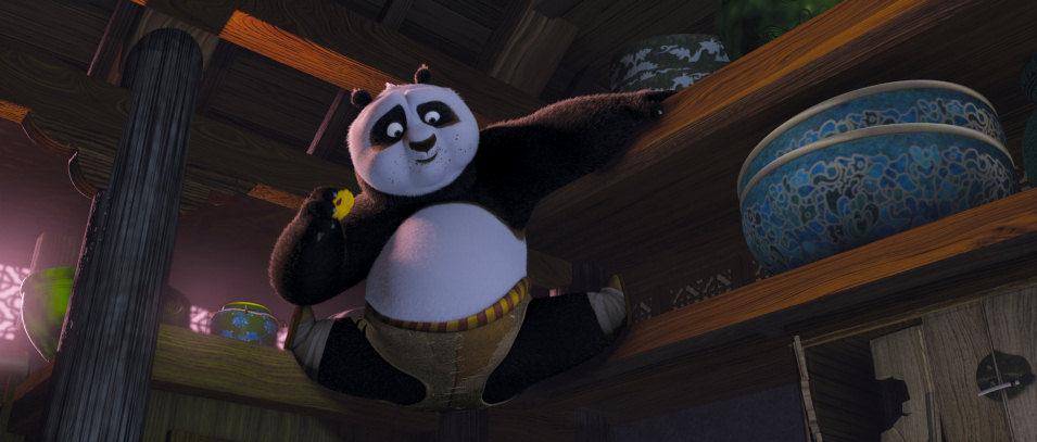 Kung Fu Panda, fotograma 3 de 38