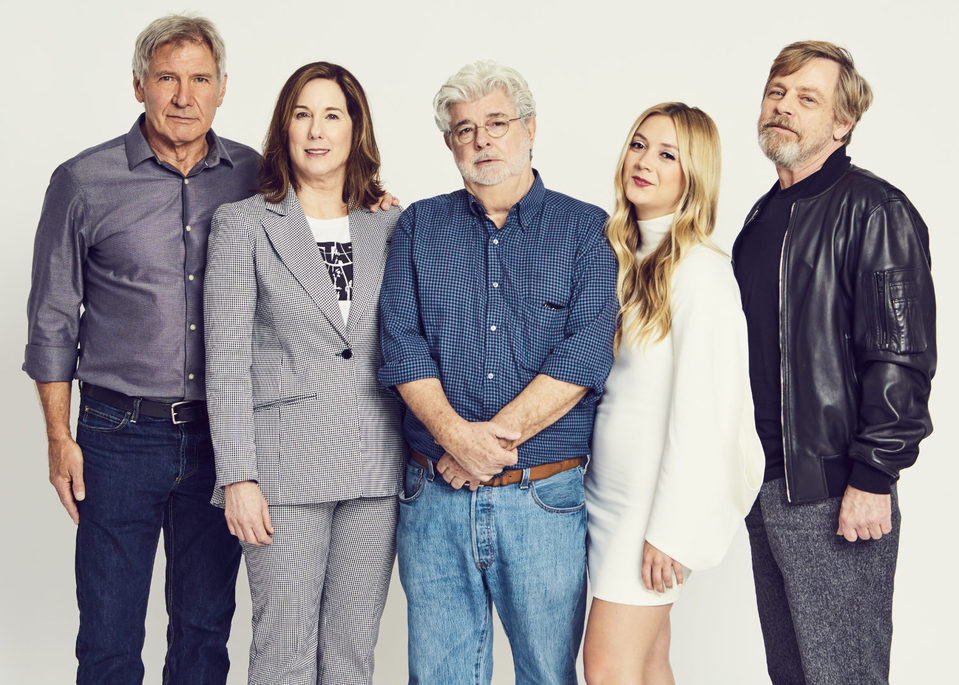 George Lucas encabeza el tributo a Carrie Fisher en la Star Wars Celebration