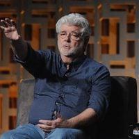 George Lucas hablando de la saga durante la Star Wars Celebration