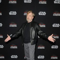 Mark Hamill durante la Star Wars Celebration
