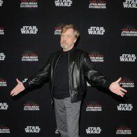 Mark Hamill durante la Star Wars Celebration