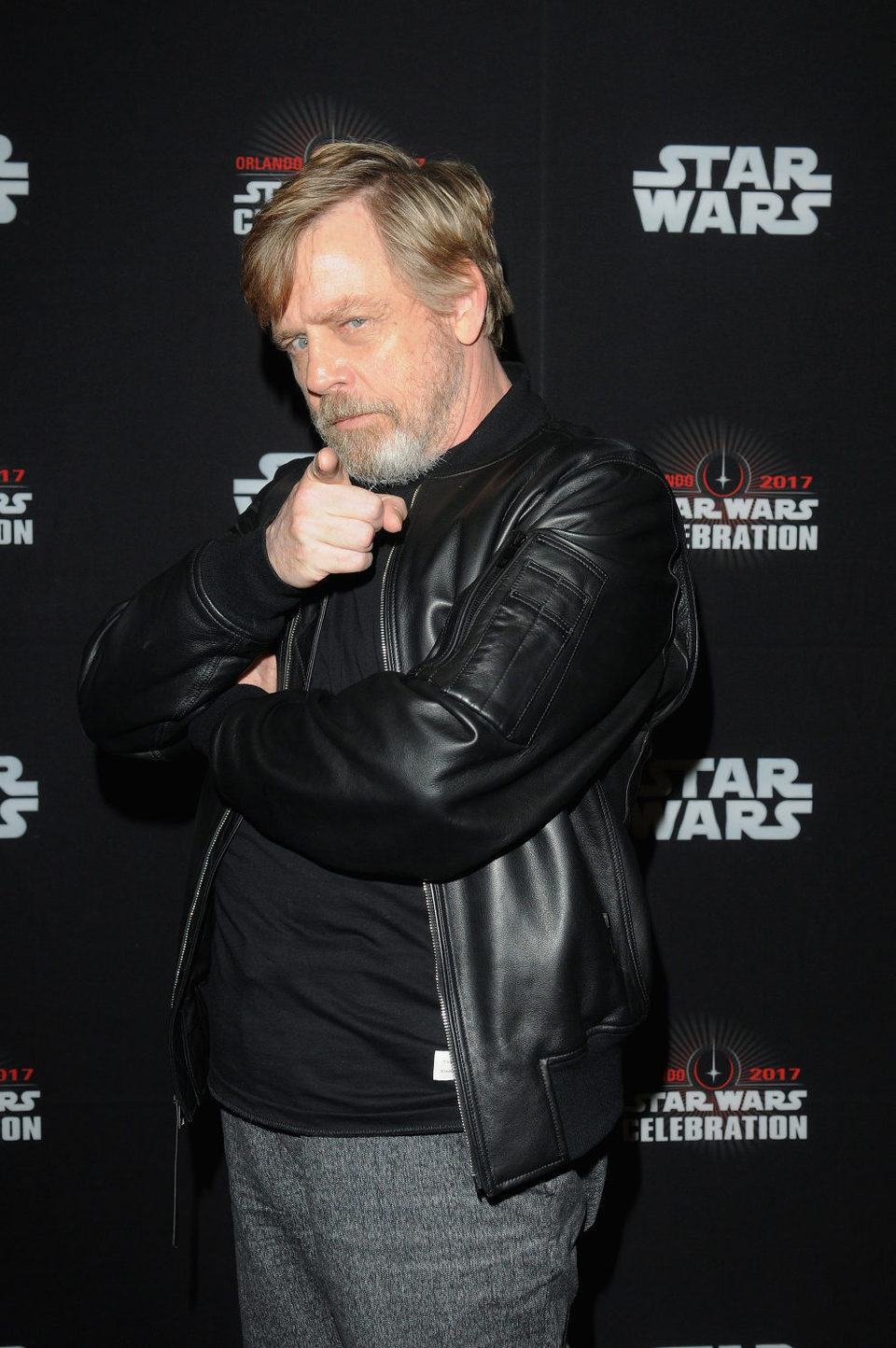 Mark Hamill en la Star Wars Celebration
