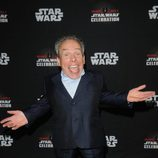Warwick Davis en la Star Wars Celebration