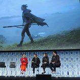 Imagen de Rey en el panel de 'Los últimos Jedi' en la Star Wars Celebration