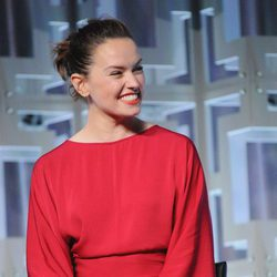 Daisy Ridley en el panel de 'Los últimos Jedi' de la Star Wars Celebration
