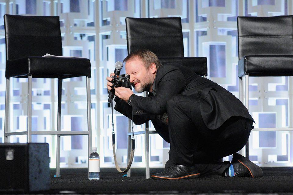 Ryan Johnson en el panel de 'Los últimos Jedi' de la Star Wars Celebration
