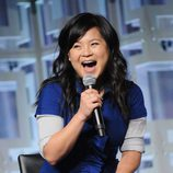 Kelly Marie Tran en el panel de 'Los últimos Jedi' de la Star Wars Celebration