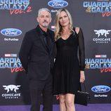 Tommy Flanagan en la premiere mundial de 'Guardianes de la galaxia Vol. 2'