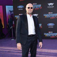 Michael Rooker en la premiere mundial de 'Guardianes de la galaxia Vol. 2'
