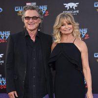 Kurt Russel y Goldie Hawn en la premiere mundial de 'Guardianes de la galaxia Vol. 2'