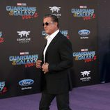Sylvester Stallone en la premiere mundial de 'Guardianes de la galaxia Vol. 2'