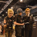 Prompto, Noctis e Ignis del 'Final Fantasy XV'
