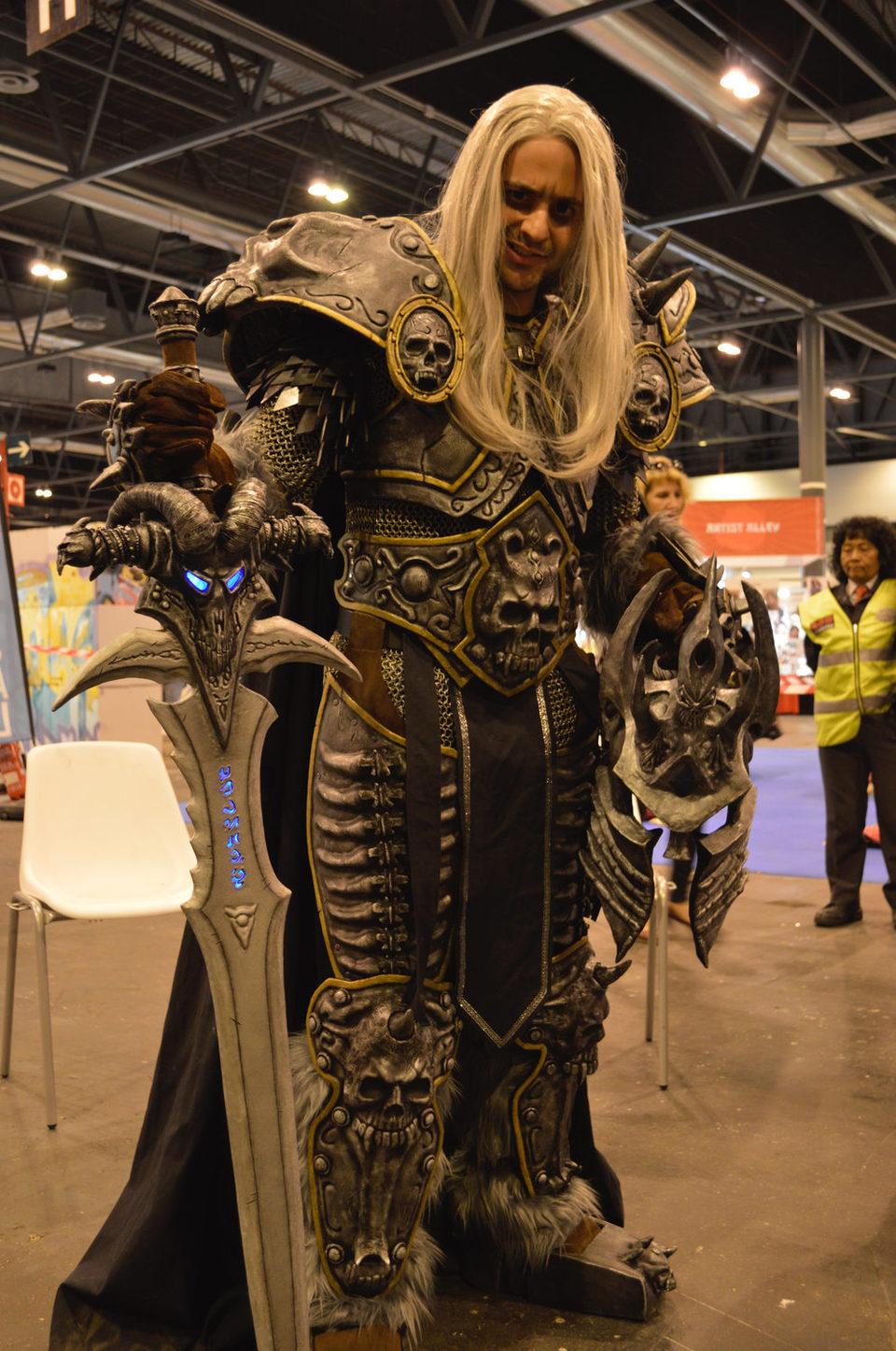 Arthas del 'World of Warcraft'
