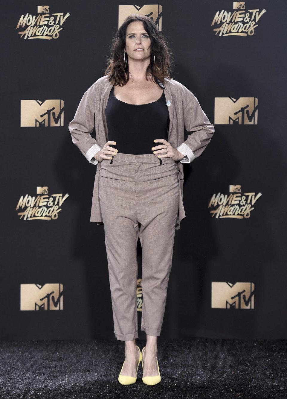 Amy Landecker in the MTV Movie & TV Awards 2017 gala ...